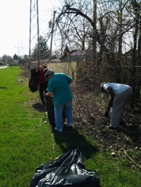 Illinois Prairie Path Cleanup Saturday, April 29, 8:45 AM
