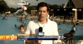 Fred Hampton Pool Makes Waves; Cooling Tips For Seniors