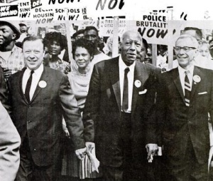 A. Philip Randolph, Godfather of the Civil Rights Movement, Marches (Ebony).