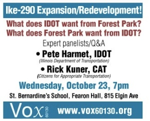 NOTIFICATION-IKE-290 EXPANSION:REDEVELOPMENT MEETING
