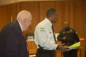 Edwin Walker and Chief Talley