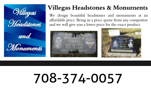 Sponsored By Villegas Headstones & Monuments