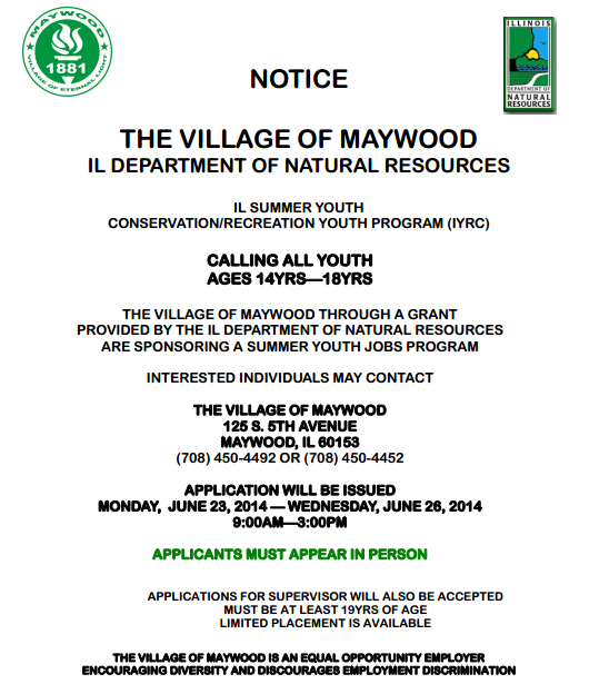 Illinois Department Of Natural Resources Summer Jobs