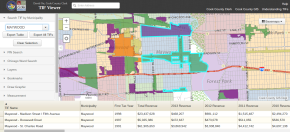 Cook County Clerk Data Show 2013 TIF Revenue Down for Maywood, Other Suburbs; Orr Unveils New Online 'TIF Viewer'