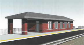 Proposed 5th Avenue Metra Train Station Progressing