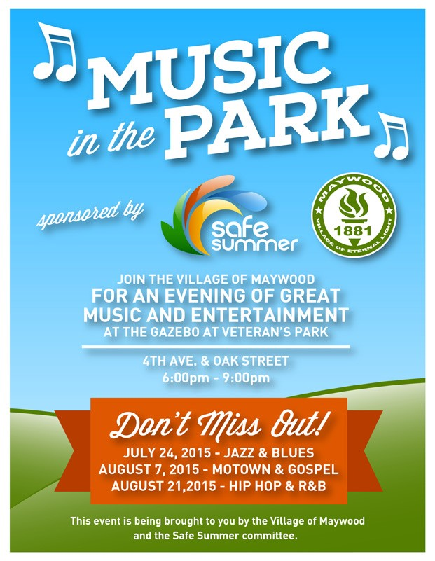 Safe Summer Music in Park