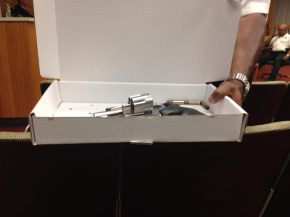 """This Is What Our Officers Deal With,"" Says Maywood Police Chief to Board About BB Gun"