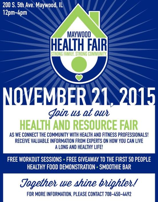 Maywood health fair