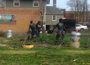One Possible Solution To Maywood's Crime Problem? More Green Space And Well-KeptLawns