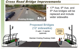Cross Road bridge improvements