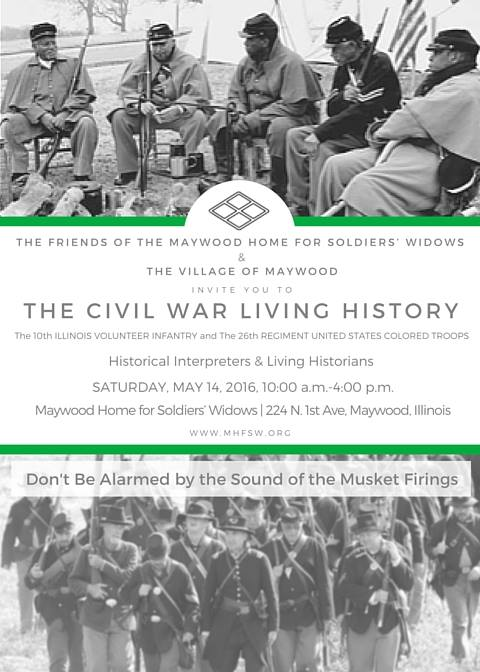 Maywood Civil War event