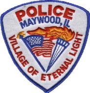 Maywood police badge