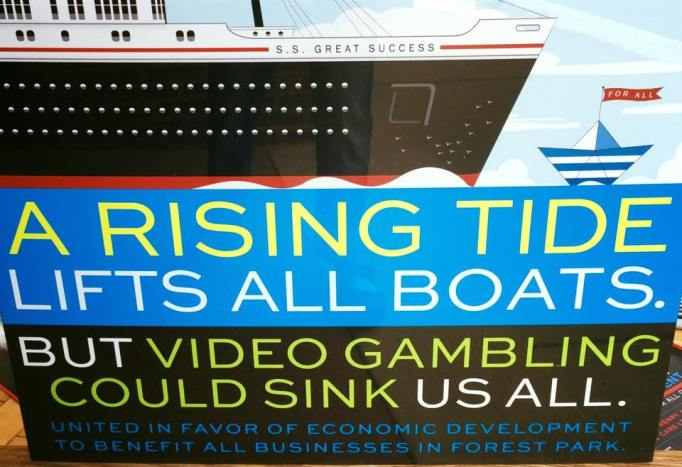 Video gambling poster