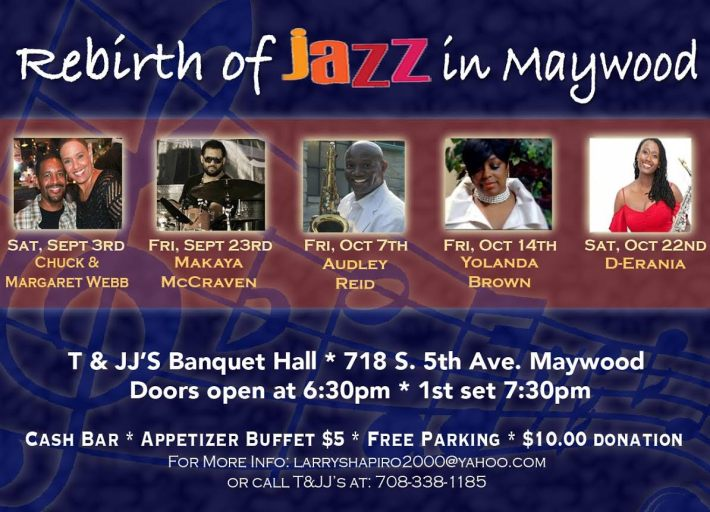 Jazz in Maywood Flyer
