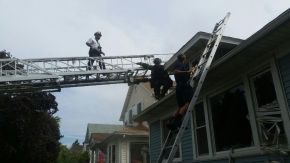 No Injuries After House Fire on 200 Block of S. 12th inMaywood