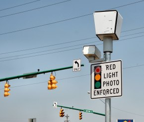 Maywood Cuts Number of Red Light Cams, Hopes for Increased Revenues
