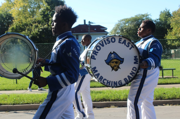 proviso-east-homecoming_band_drums