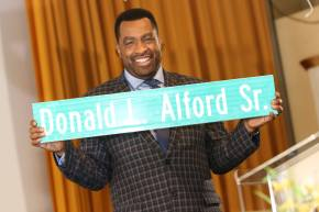 Briefly: Honorary Street Named After Hillside Pastor | A Maywood Brotherhood to Give Away 350 Toys to Needy| More Inside
