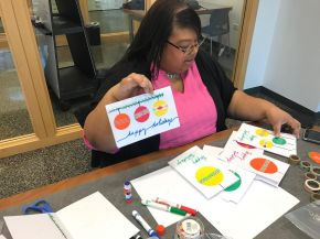 Hines Vets Can Count on Event Planner's Festive Cards This HolidaySeason