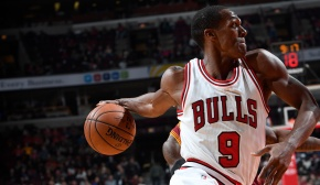 Chicago Bulls Guard Rajon Rondo Has Been Working Out at Irving Middle School InMaywood