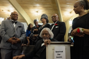Photo Essay: During a Ceremony Held in Their Honor, Area Pastors Got to Relax in the Pews for a Change