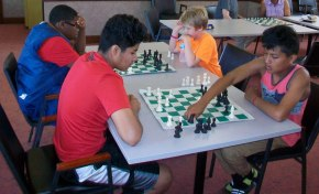 Maywood Library Club Produces 13-Year-Old Chess Champion