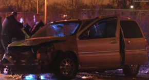 Police Chase That Started in Chicago Ends in Maywood Crash, OfficerInjured