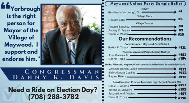 Danny Davis endorsement