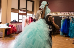 Photo Essay: A Prom Dress Giveaway in Maywood