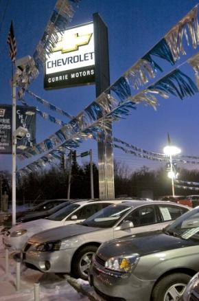 Currie Motors Could Be Headed Back to Roosevelt in Nearby Forest Park