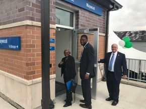 Maywood Metra Station Officially Opens toRiders