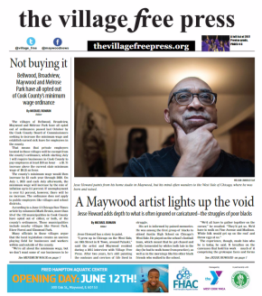 Pick Up the June Issue of Village Free Press in Print or Read it Online Now
