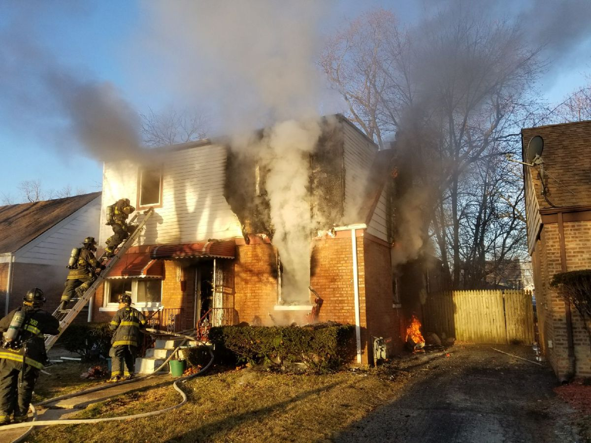 Family Displaced, One Seriously Injured In March 18 Maywood House Fire