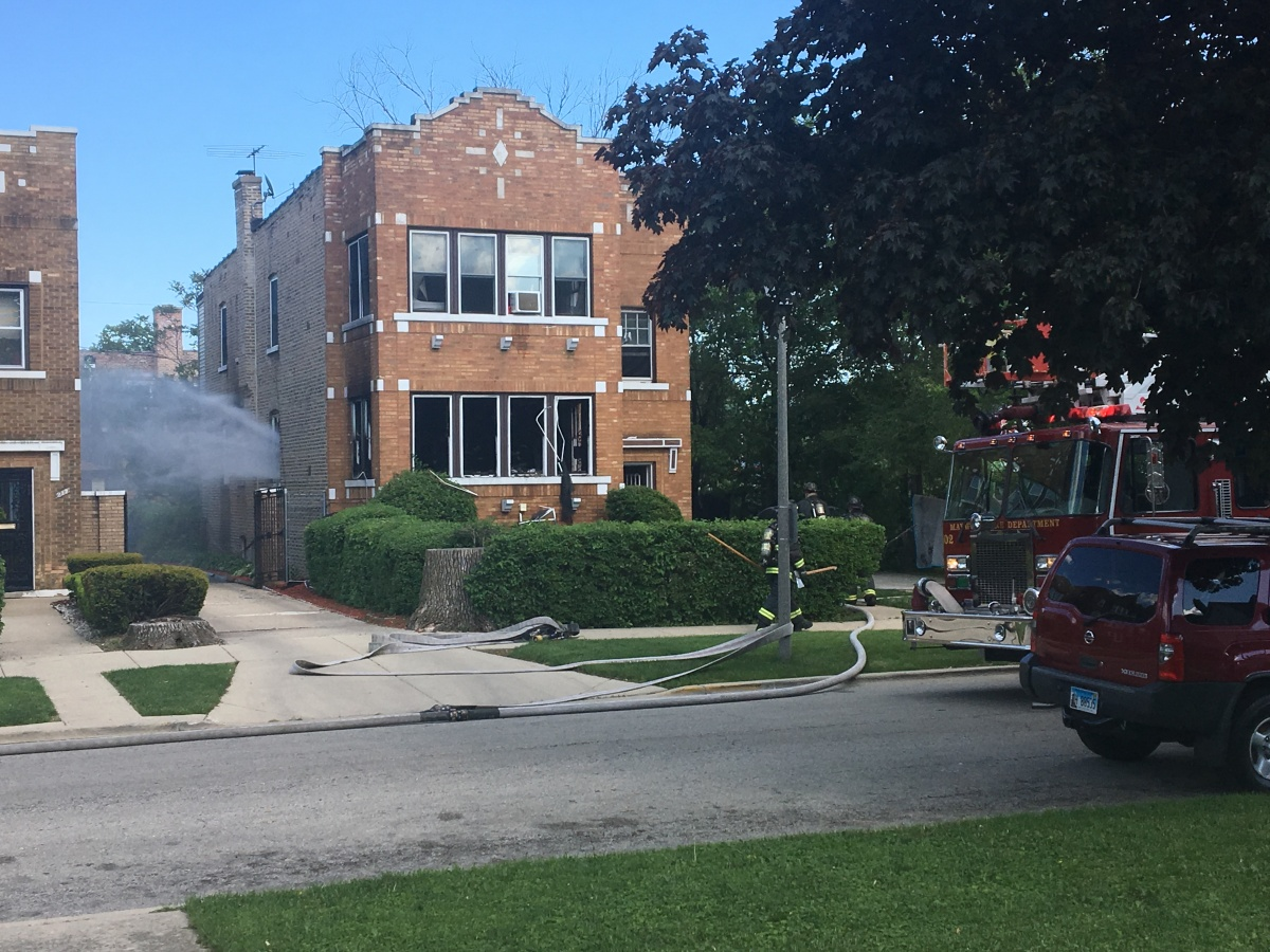 1-Alarm Fire Breaks Out In Maywood Apartment On May 26