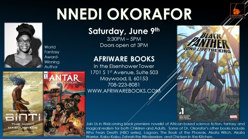 Nnedi Okorafor June 2018 Event.1-1